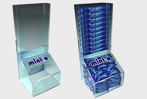 Acrylic Display Stand Mint-o